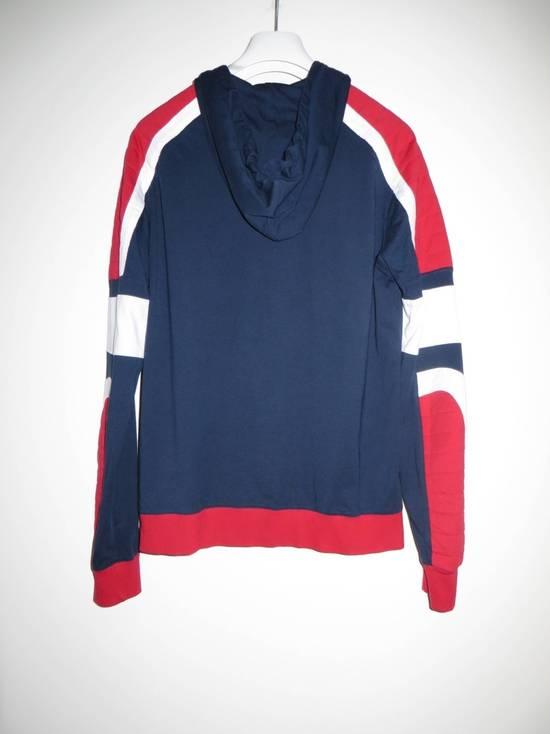 Balmain Panelled cotton biker hoodie Size US XS / EU 42 / 0 - 4