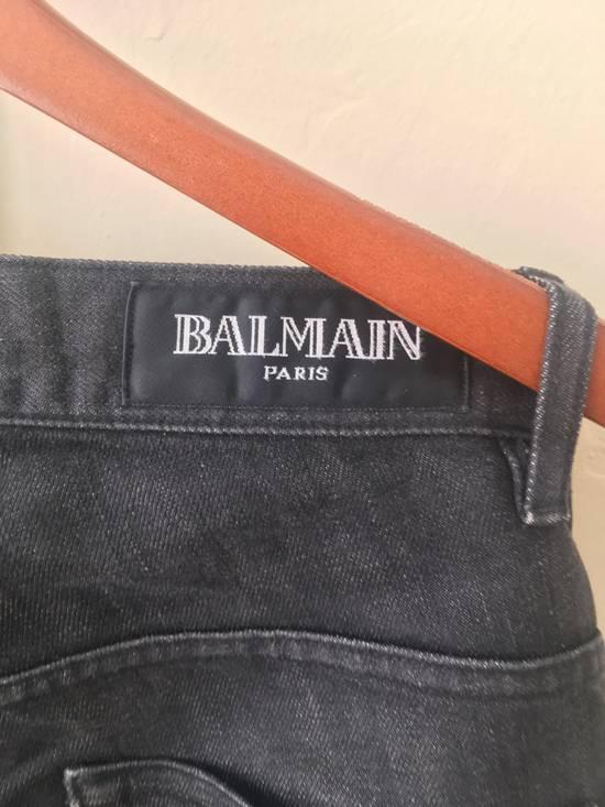 Balmain Dark Grey 3D jeans Size US 27 - 4
