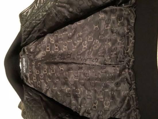 Givenchy Men's Dolce & Gabanna Quilted Leather Bomber Jacket Size 48 Size US M / EU 48-50 / 2 - 1