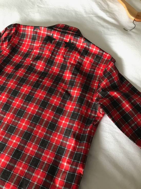 Givenchy Red Check Star shirt Size US S / EU 44-46 / 1 - 6