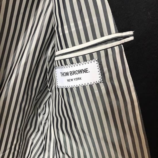 Thom Browne THOM BROWNE CLASSIC CASHMERE NAVY BLAZER JACKET Size 40S - 6