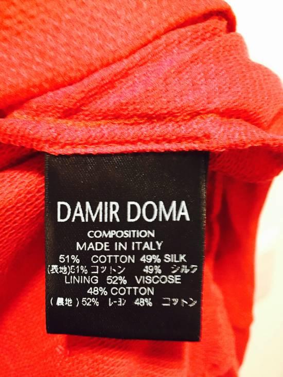 Damir Doma Red Draped Jacket Size 48 Size US M / EU 48-50 / 2 - 4