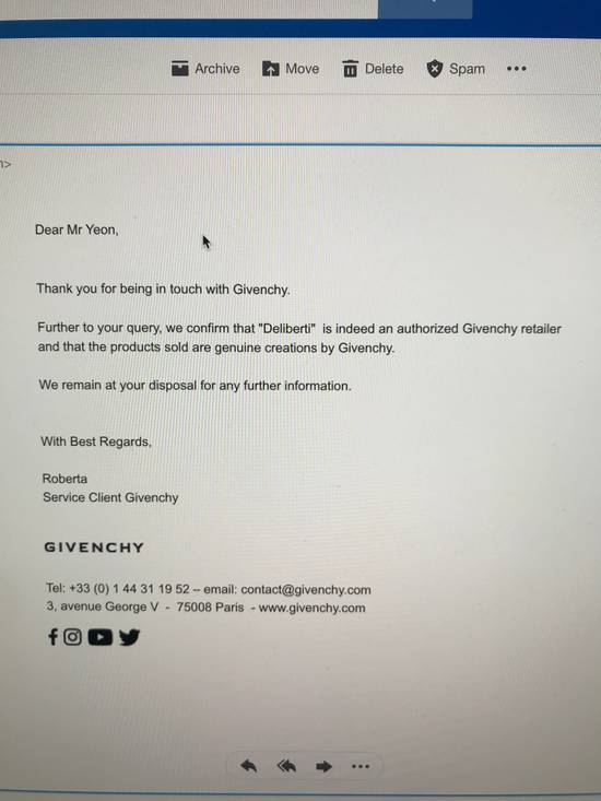 Givenchy Distressed Logo Patch Hoodie (Black) Size US L / EU 52-54 / 3 - 7