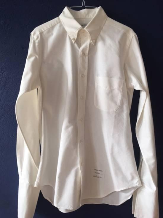 Thom Browne BRAND NEW FRENCH CUFF SHIRT Size US L / EU 52-54 / 3 - 5
