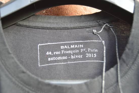 Balmain Black Distressed T-shirt Size US XS / EU 42 / 0 - 3