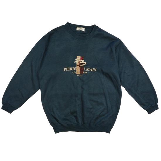 Balmain Pierre Balmain Sweatshirt Navy Size US L / EU 52-54 / 3