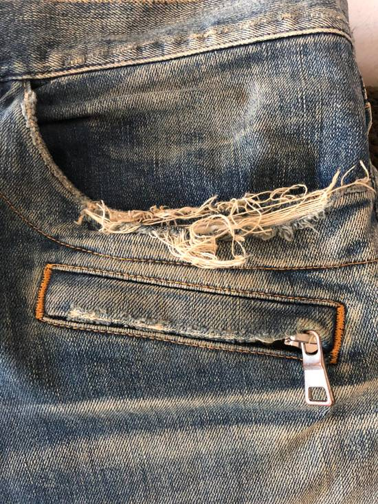 Balmain Balmain disrtressed biker jeans Size US 36 / EU 52 - 11