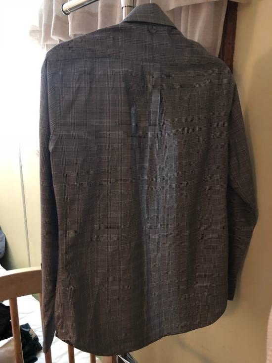 Thom Browne Grey Glen Plaid Shirt Size US XS / EU 42 / 0 - 1