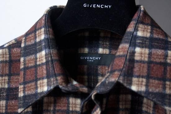 Givenchy AW11 leather plaid shirt Size US S / EU 44-46 / 1 - 5