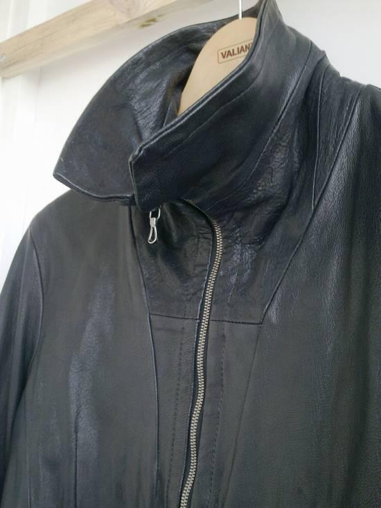 Julius Julius high collar Leather Jacket Size US L / EU 52-54 / 3 - 1