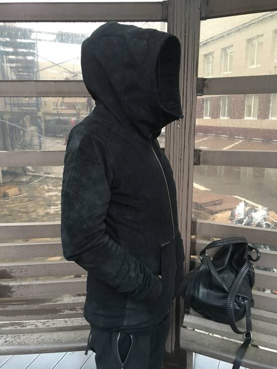 Julius Julius leather hood jacket Size US M / EU 48-50 / 2