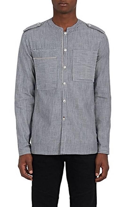 Balmain Balmain Mandarin-Collar Military Shirt Size US S / EU 44-46 / 1