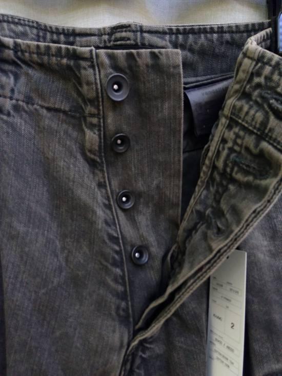 Julius Green Denim Gas Mask Cargo Pants s/s 13 Size US 31 - 3
