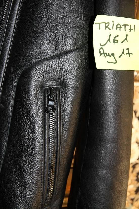 Balmain AW12/13 Shearling Biker Jacket Size US M / EU 48-50 / 2 - 9