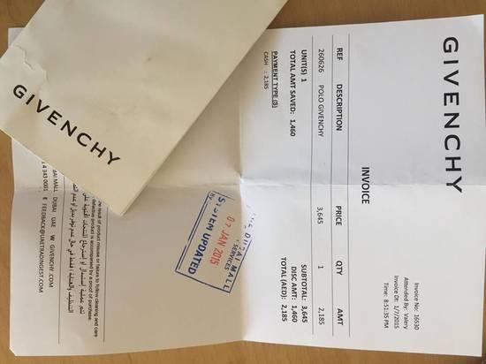 Givenchy Camo Long Sleeve Polo Size US S / EU 44-46 / 1 - 5