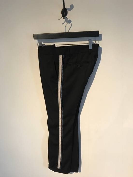 Balmain Balmain Black Tuxedo Band Trousers Size US 30 / EU 46