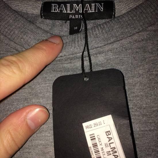 Balmain Balmain Grey Jumper Size M Size US M / EU 48-50 / 2 - 3