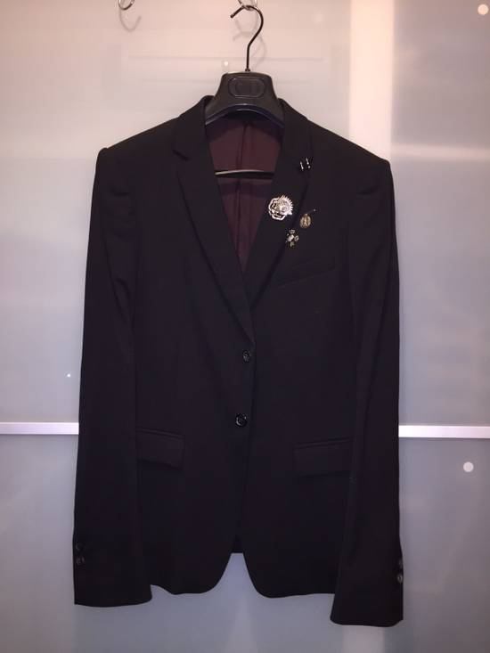 Balmain Balmain Runway Black Blazer With Accessories Size US M / EU 48-50 / 2
