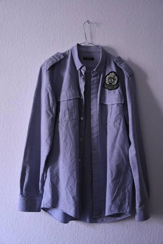 Balmain Balmain military shirt Size US L / EU 52-54 / 3