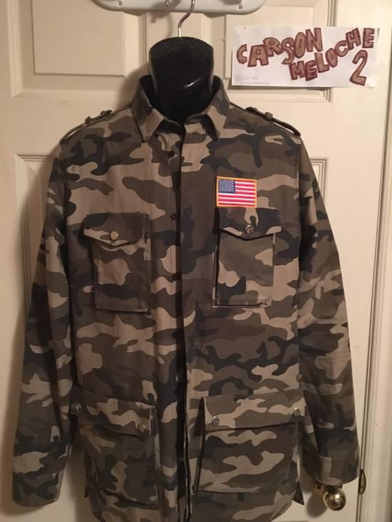Balmain Balmain Camo Jacket (Size 39) Size US L / EU 52-54 / 3 - 5