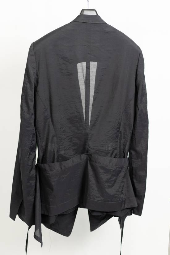 Julius SS11 Black Skirted Tech Blazer Jacket Size US M / EU 48-50 / 2 - 1