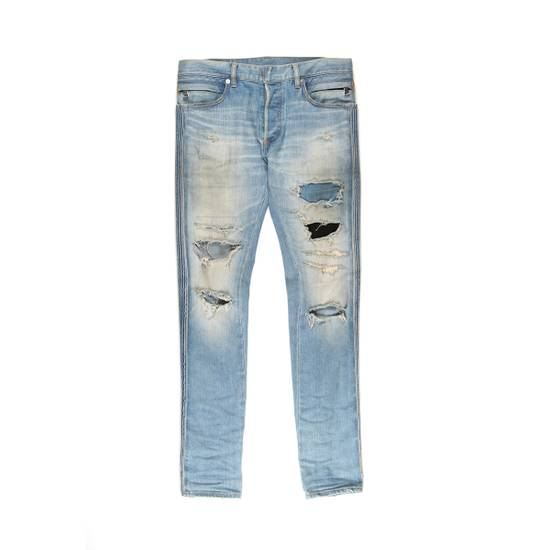 Balmain Distressed Patched Denim Size US 29