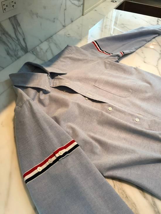 Thom Browne Thom Browne Armband Shirt Blue Size 3 Size US L / EU 52-54 / 3 - 2