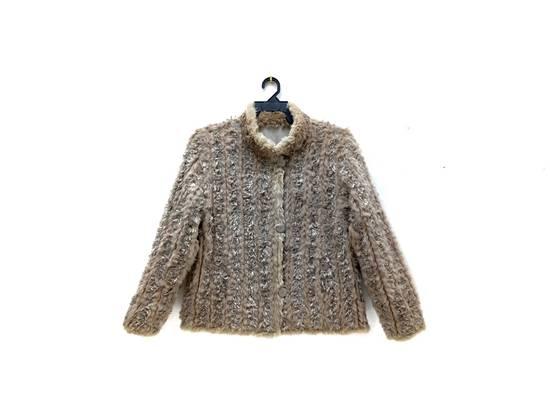 Balmain 🔥FINALDROP♨Reversible Balmain Paris Fur and Silk Jacket RARE Design Size US L / EU 52-54 / 3