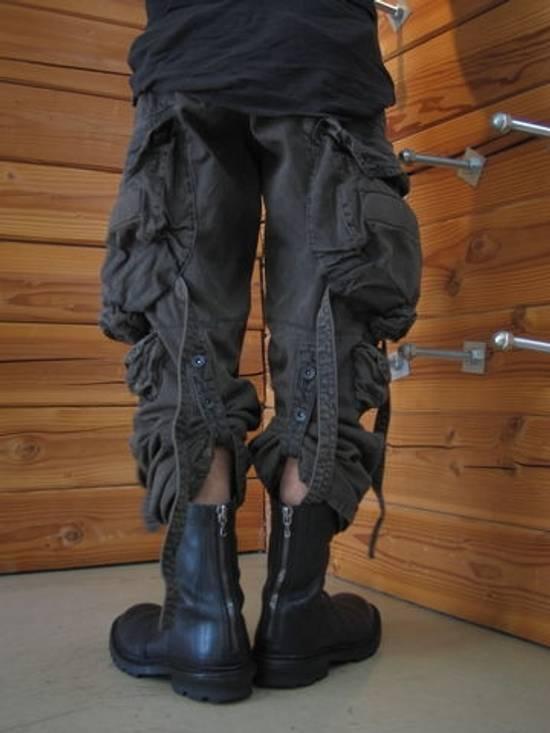 Julius Green Denim Gas Mask Cargo Pants s/s 13 Size US 31 - 15
