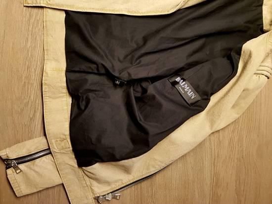 Balmain Ripstop Biker Jacket Size US S / EU 44-46 / 1 - 1