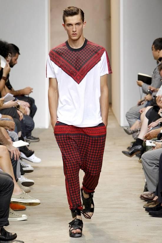 Givenchy White Keffiyeh Print T-shirt Size US XS / EU 42 / 0 - 1