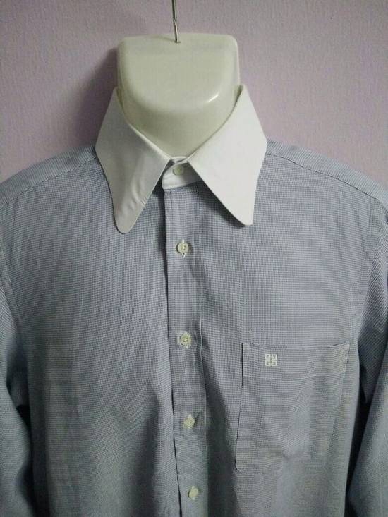 Givenchy Givenchy Oxford Shirt Button Down French Luxury Fashion House Monsieur by Givenchy Clean and Awesome Condition !! Size US L / EU 52-54 / 3 - 10