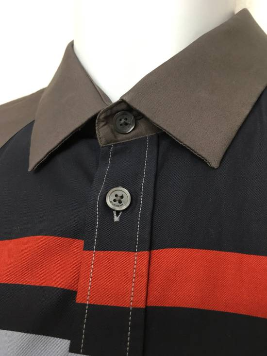 Givenchy Givenchy Paris Gray Horizontal Striped Button Shirt Size US L / EU 52-54 / 3 - 4