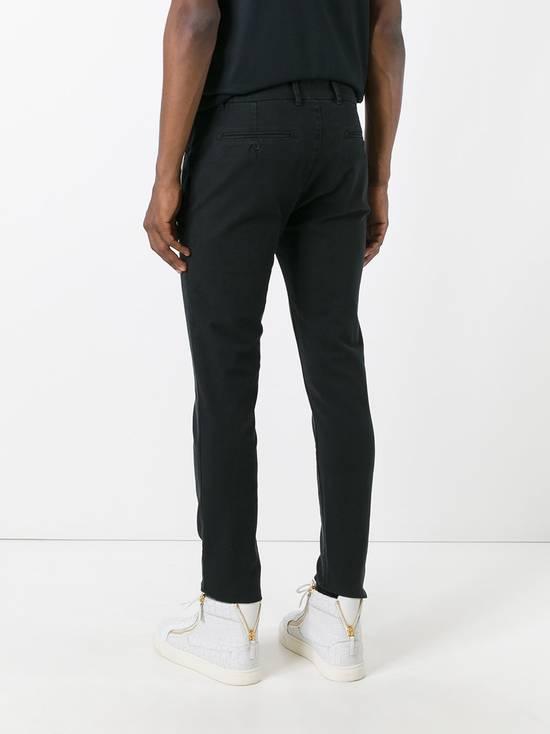 Balmain Black Zip Detail Chinos Size US 32 / EU 48 - 3