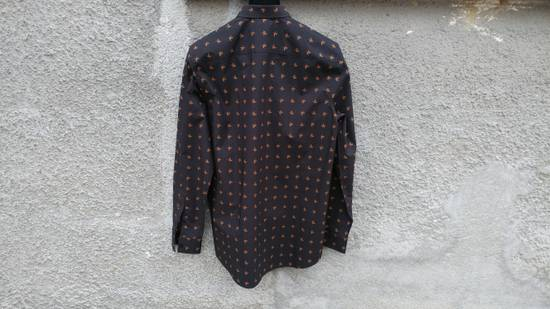 Givenchy Givenchy Floral Print Rottweiler Shark Stars Men's Shirt size 40 (M) Size US M / EU 48-50 / 2 - 6