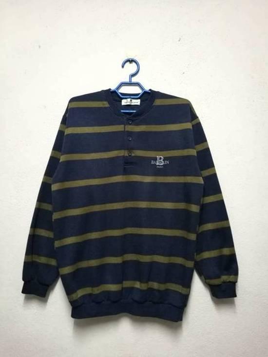 Balmain Pierre Balmain Half Button Sweatshirt Sweater Size US M / EU 48-50 / 2 - 1