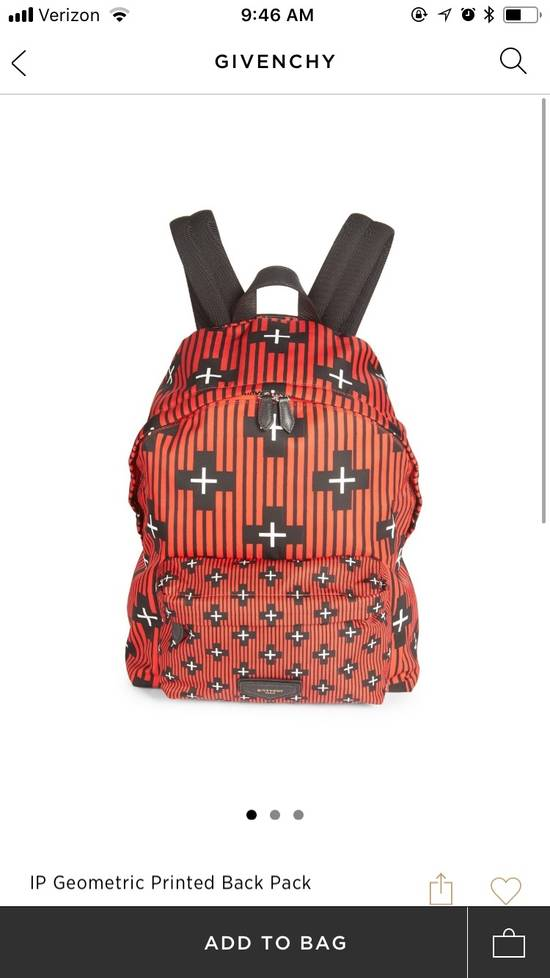 Givenchy Givenchy Backpack All Red Leather Size ONE SIZE