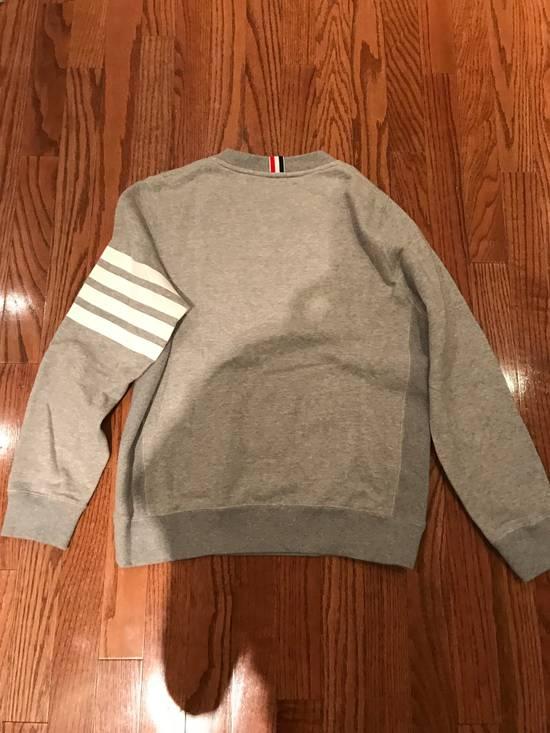Thom Browne Grey Classic Lounge Sweater Size US M / EU 48-50 / 2 - 1