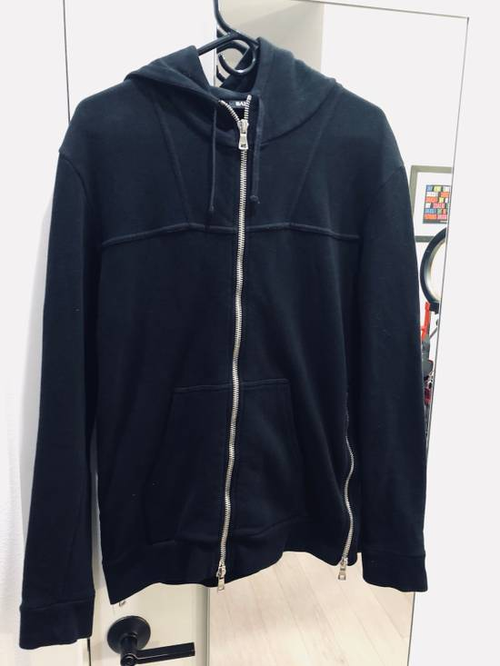 Balmain Black Zip Hoodie Size US M / EU 48-50 / 2 - 5