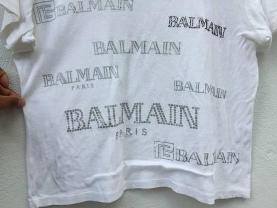 Balmain Vintage Balmain Script Logo Tshirt Size US S / EU 44-46 / 1 - 8
