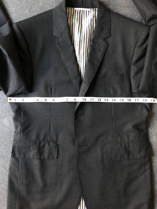 Thom Browne Charcoal Suit (Size 1) Size 38R - 6