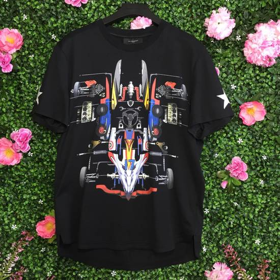 Givenchy Black Disassembled Race Car Tee Size US M / EU 48-50 / 2