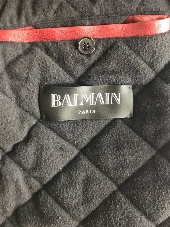 Balmain Balmain Red Leather Jacket Size It46 Size US S / EU 44-46 / 1 - 2