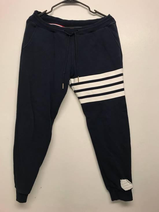 Thom Browne Classic TB Blue Sweatpants Size US 30 / EU 46