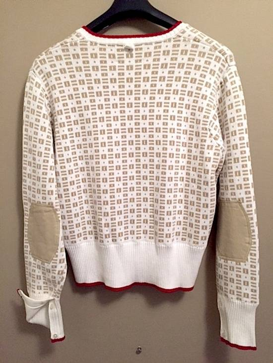 Thom Browne Insigna V-Neck Sweater with Patches Size US XL / EU 56 / 4 - 4