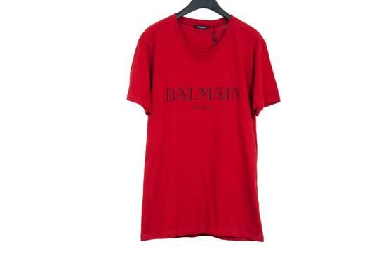 Balmain Red Logo Shirt Size US M / EU 48-50 / 2