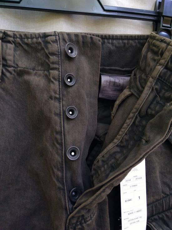 Julius Green Denim Gas Mask Cargo Pants s/s 13 Size US 29 - 7
