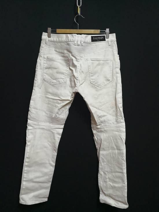 Balmain Balmain Coated biker Jeans Size US 33 - 5