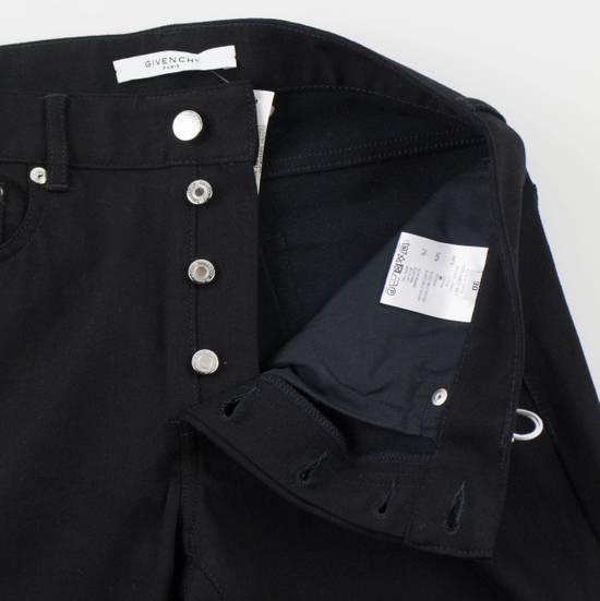 Givenchy Black Cotton Blend Denim Jeans Pants Size US 30 / EU 46 - 4
