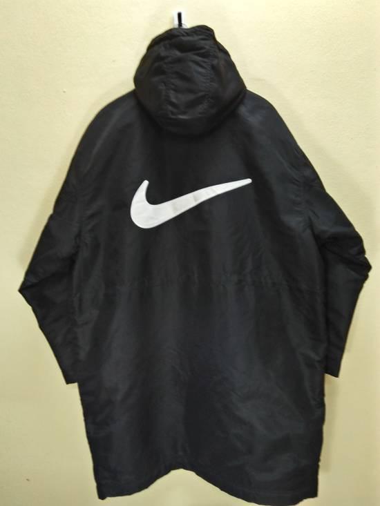 Vintage Nike L Pullover Windbreaker Jacket Black